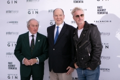 Sir Jackie Stewart, Prince Albert of Monaco, Eddie Irvine