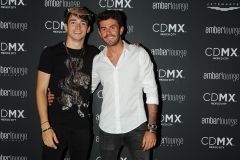 Charles Leclerc and Norman Nato