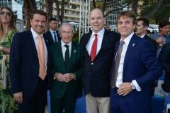 Amber Lounge - Sir Jackie Stewart and Prince Albert of Monaco