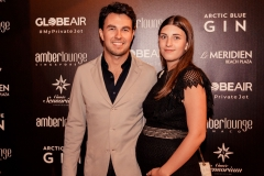 Sergio Perez & wife